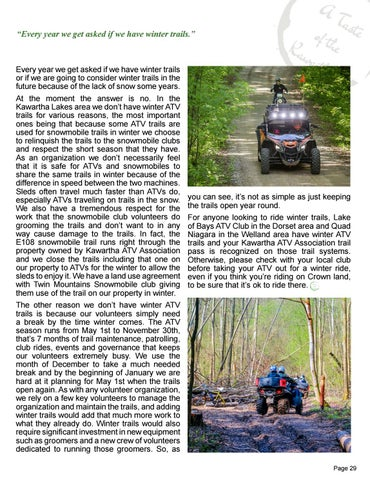Page 29 of ATV Trails In the Kawarthas