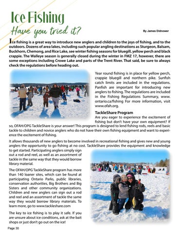 Page 30 of Ice Fishing - Have you tried it?