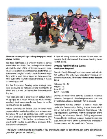 Page 31 of Ice Fishing - Have you tried it?