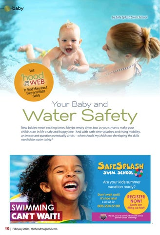 Page 10 of Your Baby and Water Safety