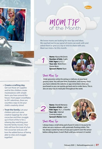 Page 27 of Mom Tips of the Month