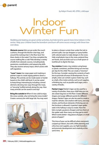 Page 28 of Indoor Winter Fun