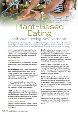 Page 32 of Plant Based Eating Without Missing Key Nutrients