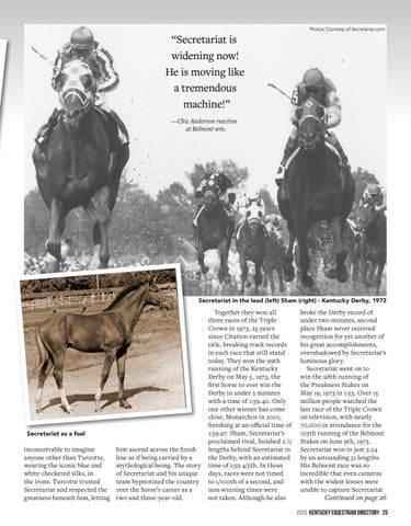 Page 27 of The Untold Story of Secretariat, from the Vet who Discovered His Secret