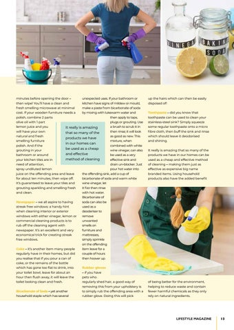 Page 13 of Cleaning hacks you can't live without