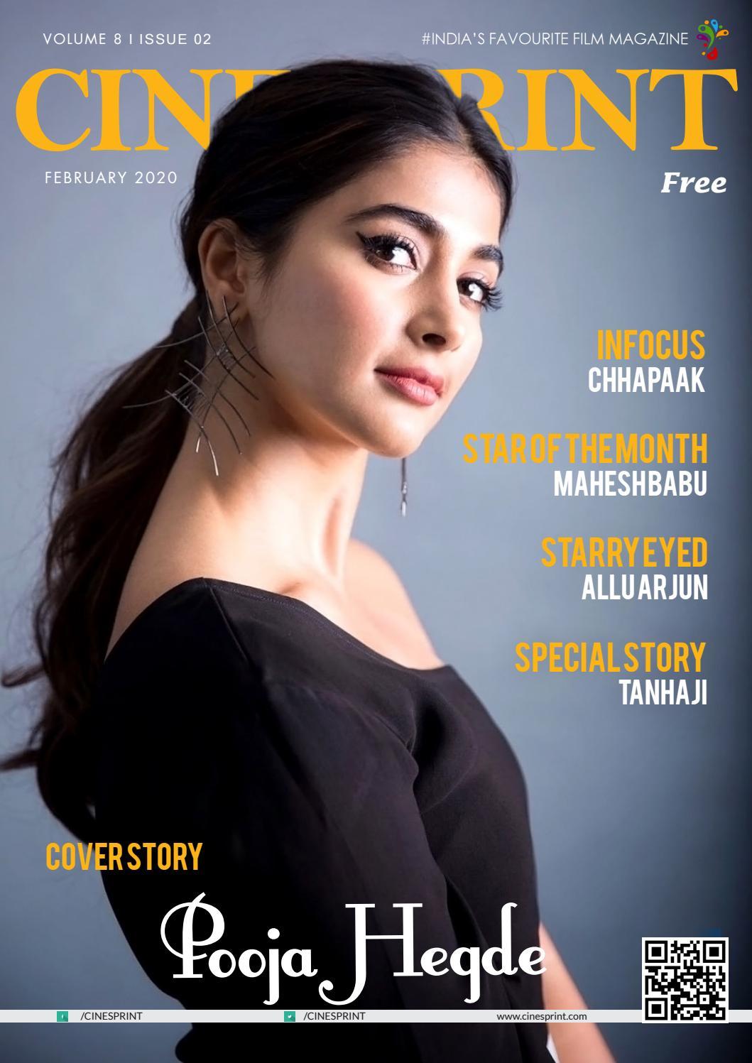 Cinesprint Magazine February 2020 By Wishesh Digital Media Pvt Ltd Issuu