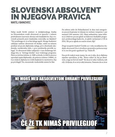Page 7 of Slovenski absolvent in njegova pravica