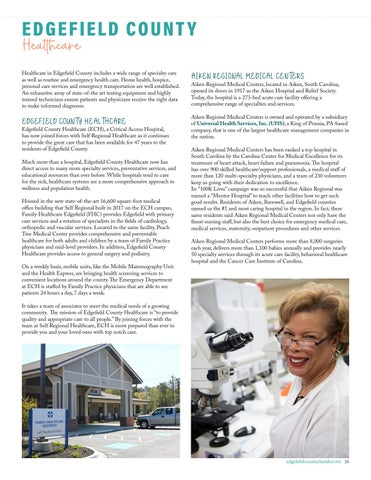 Page 27 of EDGEFIELD COUNTY HEALTHCARE