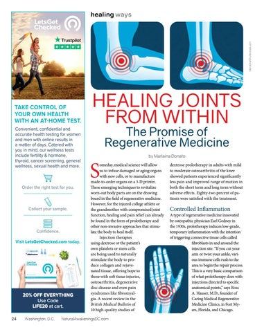 Page 24 of HEALING JOINTS