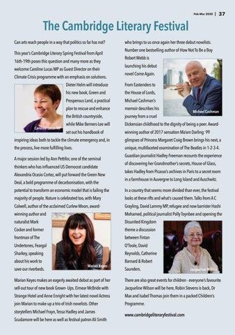Page 37 of Cambridge Literary Festival