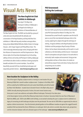 Page 6 of Visual Arts News