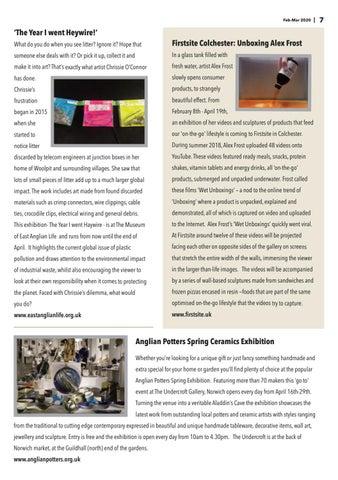 Page 7 of Visual Arts News