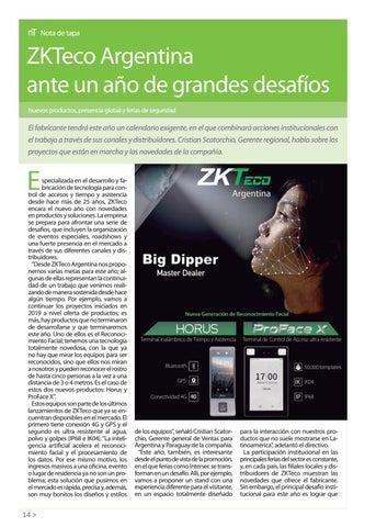 Page 16 of ZKTECO ARGENTINA