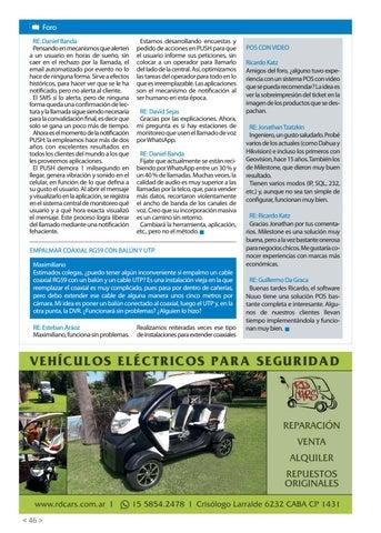 Page 48 of POS con video Empalmar coaxial RG59 con balún y UTP