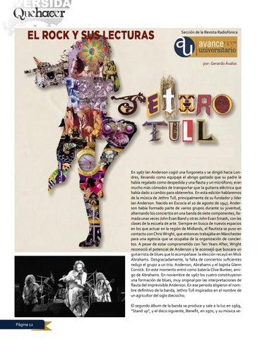 Page 12 of El rock y sus lecturas Jethro Tull