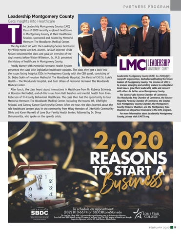 Page 13 of Leadership Montgomery County Gets Insights into Health Care