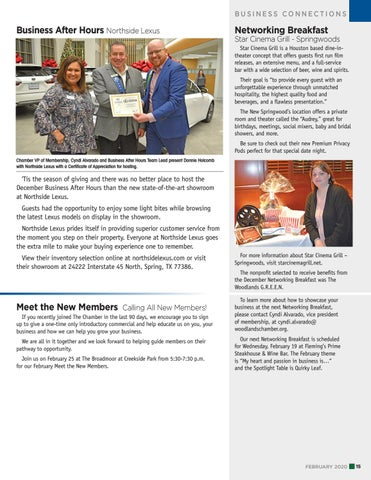 Page 15 of Business After Hours: Northside Lexus