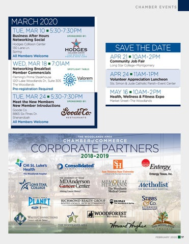 Page 17 of Chamber Events: March 2020