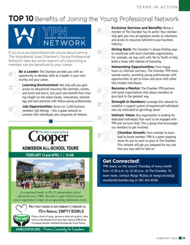 Page 25 of Top 10 Benefits of Joining the Young Professionals Network