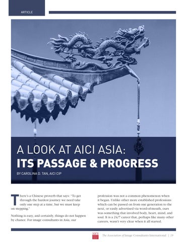 Page 19 of A Look At AICA Asia