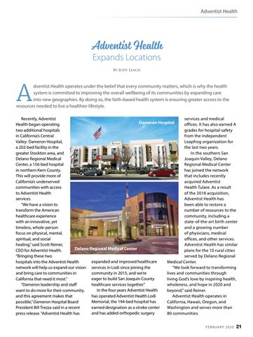 Page 21 of Adventist Health