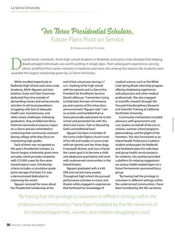 Page 30 of La Sierra University