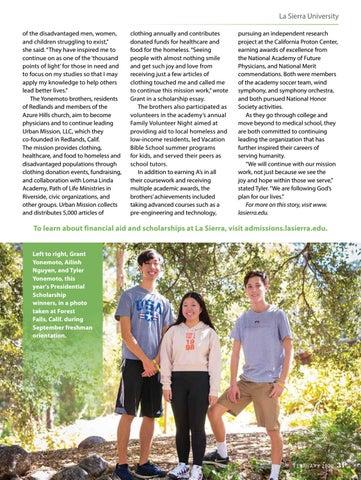 Page 31 of La Sierra University