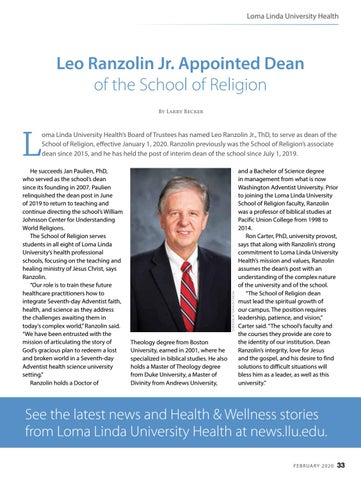 Page 33 of Loma Linda University Health