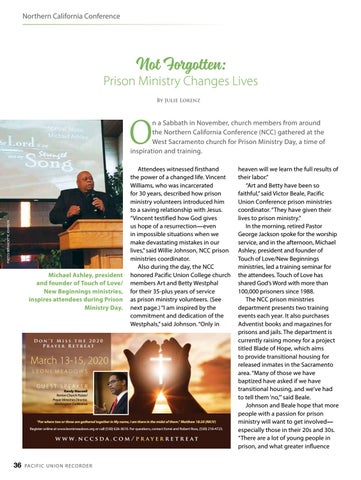 Page 36 of Northern California Conference