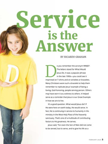 Page 5 of Service is the Answer