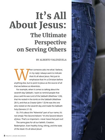 Page 8 of It's All About Jesus: The Ultimate Perspective on Serving Others