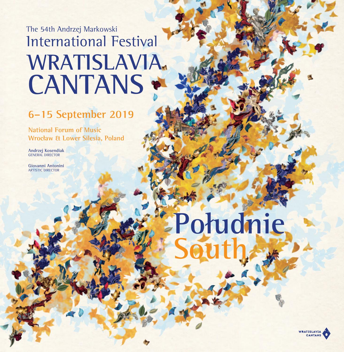 54th Wratislavia Cantans 2019 Programme Book English By National Forum Of Music Wroclaw Poland Issuu