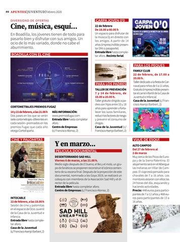 Page 46 of Juventud: cine, música, esquí