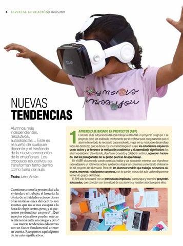 Page 6 of Nuevas tendencias pedagógicas