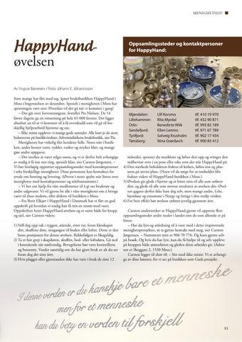 Page 11 of HappyHand-øvelsen