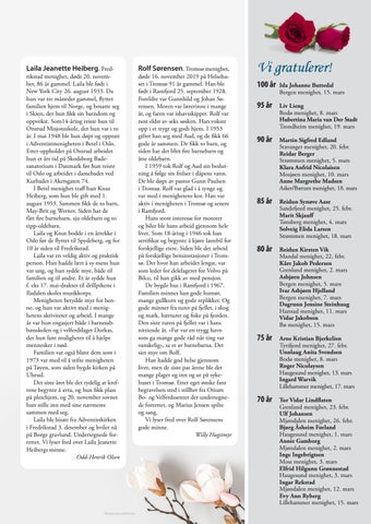 Page 29 of Vi gratulerer