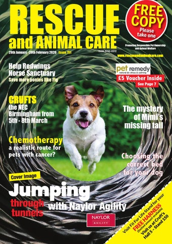 Rescue and Animal Care Magazine 29th January - 29th February 2020 - Issue 151