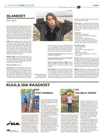 Page 32 of SKEENE DJ-ankeet: Pire Sova