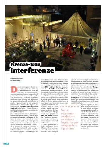 Page 10 of Firenze – Iran interferenze
