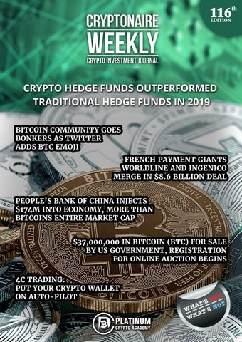 hedge funds trading cryptocurrency