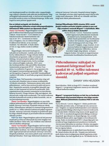 Page 25 of Teekonnal magnethaigla