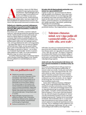 Page 9 of Dr Pille Sillaste: palliatiivse ravi