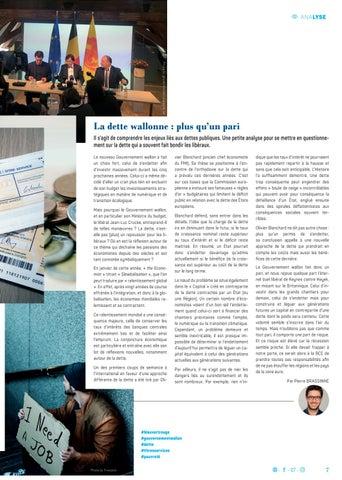 Page 7 of DU BLEU, DU VERT ET DU ROUGE POUR LA WALLONIE