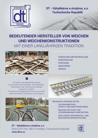 Page 31 of DT - VYHYBKARNA S STROJIRNA - Hersteller von Weichen und Weichenkonstruktionen