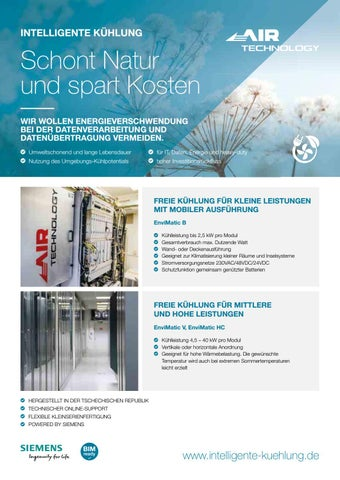 Page 41 of AIR TECHNOLOGY - Intelligente Kuehlung