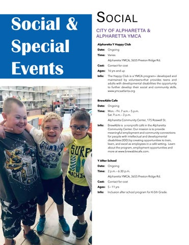 Page 14 of SOCIAL & SPECIAL EVENTS