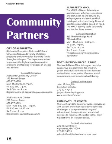 Page 18 of COMMUNITY PARTNERS