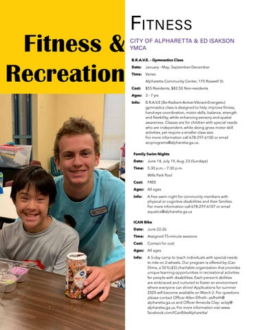 Page 6 of FITNESS & RECREATION