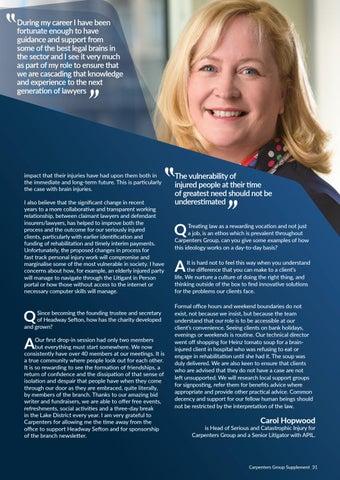 Page 31 of Carol Hopwood, APIL