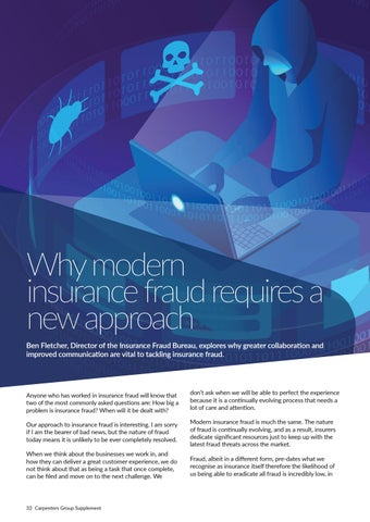 Page 32 of Why modern insurance fraud requires a new approach with Ben Fletcher, IFB